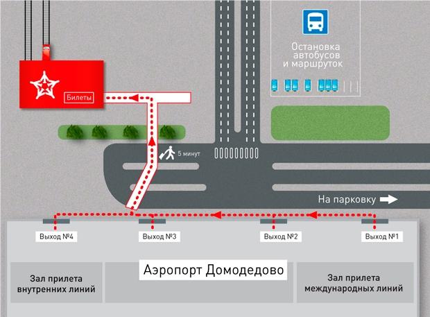 Как доехать из аэропорта Домодедово на Павелецкий вокзал
