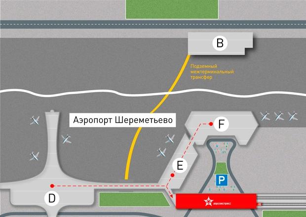 Как доехать из аэропорта Шереметьево на Балтийский вокзал